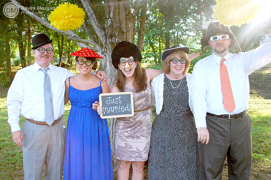 Wedding Photobooth in Greenville, SC | Davey Morgan Photography