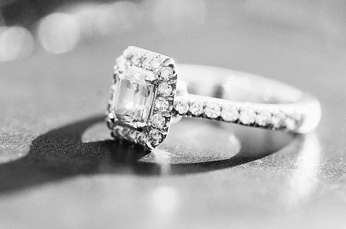 Close up of engagement ring pictures | Davey Morgan Photography