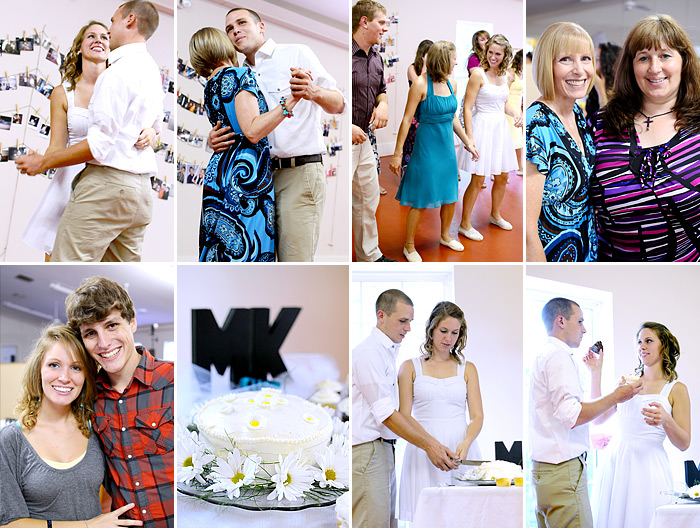 wedding reception at camp marietta | Davey Morgan Photography