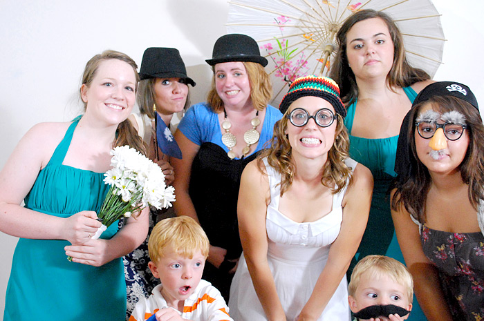 wedding photo booth, wedding photobooth | Davey Morgan Photography