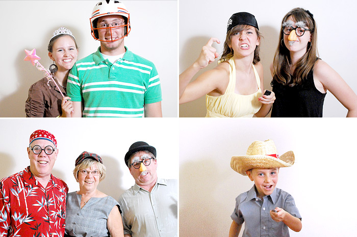 greenville, sc wedding photo booth, wedding photobooth with props | Davey Morgan Photography