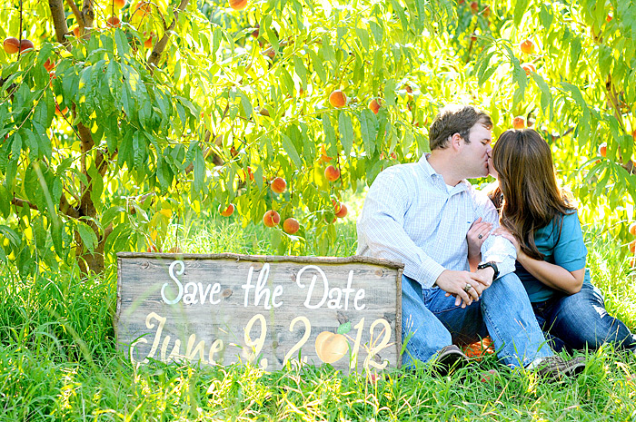 Save the Date Card | Davey Morgan Photography