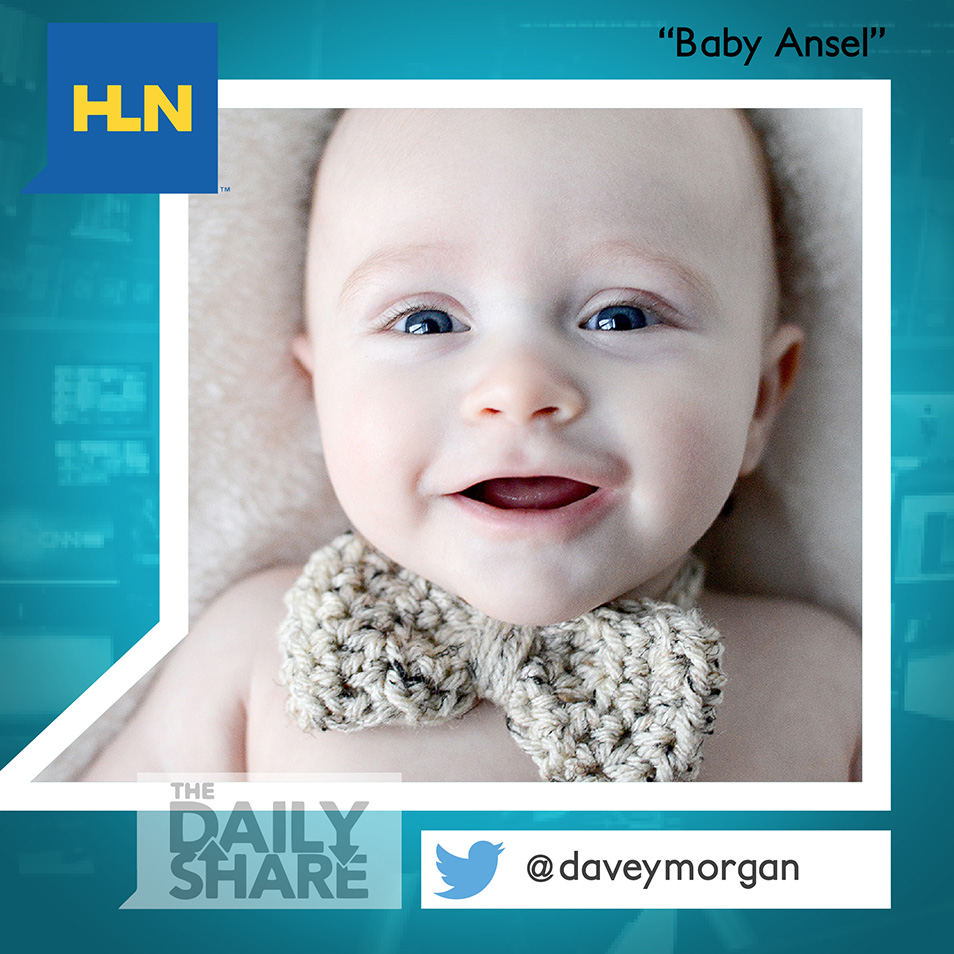 CNN: Headline News, The Daily Share on HLN of Baby Ansel