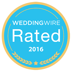WeddingWire Rated 2016 award