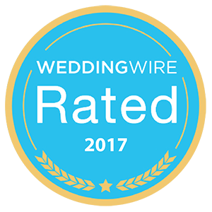 WeddingWire Rated 2017 award