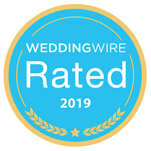 WeddingWire Rated 2019 award