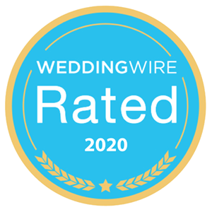 WeddingWire Rated 2020 award
