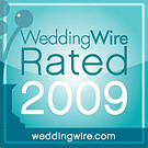 WeddingWire Rated 2009 award