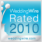 WeddingWire Rated 2010 award