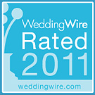 WeddingWire Rated 2011 award
