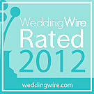 WeddingWire Rated 2012 award