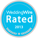 WeddingWire Rated 2013 award