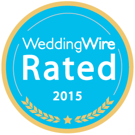 WeddingWire Rated 2015 award